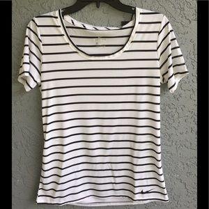 Striped Nike shirt